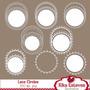 Kit Imprimible Pack Frames Etiquetas Label 62 Clipart