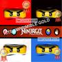 Kit Imprimible Ninjago Invitaciones Y Mas