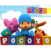 Kit Imprimible Pocoyo Personalizadas, Cumples 2x1