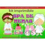 Kit Imprimible Spa De Niñas Spa De Nenas Candy Bar Cotilló