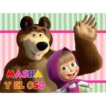 Kit Imprimible Masha Y El Oso
