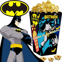 Kit Imprimible Batman Golosinas Candy Bar Y Cotillon 2x1