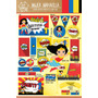 Kit Imprimible Mujer Maravilla Superheroina Candy Bar Deco!