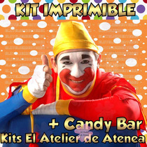 Kit Imprimible + Candy Bar Piñon Fijo Todas Las Golosina 2x1