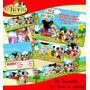 Kit Mickey La Casa De Mickey Cumpleaños Invitaciones Tarjeta