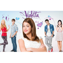 Kit Imprimible Violetta Cumpleaños Golosinas Candy Bar - 3x1