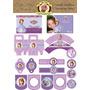 Kit Imprimible - Cumple Tematico Princesita Sofia
