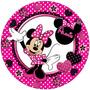 Kit Imprimible Minnie Mouse Lunares 3 En 1 Único Miralo
