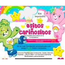 Kit Imprimible Ositos Cariñositos Incluye Candy