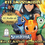 Kit Imprimible Bajo Terra Invitaciones Y Más - Editable