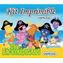Kit Imprimible Los Backyardigans + Candy Bar Invitaciones