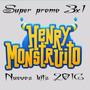 Kit Imprimible Henry Monstruito Cumple+candy+imagenes+fondos