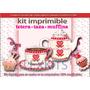 Kit Imprimible Candy Bar Tetera Taza Muffins Desayuno Merien