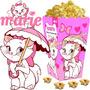 Kit Imprimible Gatita Marie Candy Bar Y Cotillon Cumple 2x1