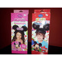 Kits De Globologia- Minnie-mickey Y Princesas-