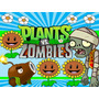 Kit Imprimible Plants Vs Zombies Diseñá Tarjetas Cumples