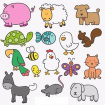 Kit Imprimible De Animales