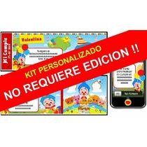 Kit Imprimible Payaso Plim Plim Personalizado