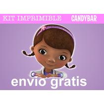 Kit Imprimible Doctora Juguetes - Candy Bar + Extras