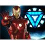 Kit Imprimible Iron Man Tarjetas Cumples Invitaciones 1