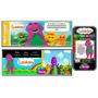 Kit Imprimible Barney Tv: Invitaciones, Candy Bar,deco,torta