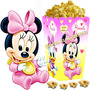 Kit Imprimible Minnie Bebe Disney Candy Bar Y Cotillon 2x1