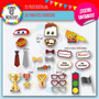 Kit Imprimible Photo Booth Cars Rayo Mcqueen (autos)