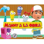 Kit Imprimible Manny A La Obra Cotillon Handy Mini Candy