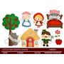 Kit Imprimible Caperucita Roja 17 Imagenes Clipart