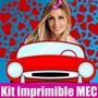 Kit Imprimible Panam Tarjeta Invitacion Candy 2015 2x1