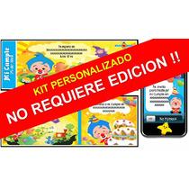 Kit Imprimible Del Payaso Plim Plim Personalizado 100%