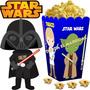 Kit Imprimible Star Wars Pequeños Cotillon Y Candy Bar 2x1