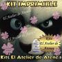 Kit Imprimible Kung Fu Panda - Editable - Invitacion Y Mas
