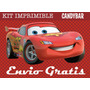 Kit Imprimible Cars 2 Disney Pixar - Candy Bar