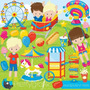 Kit Imprimible Parque Diversion Imagenes Clipart