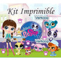 Kit Imprimible Littlest Pet Shop Candy Bar Golosinas Y Mas