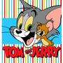 Kit Imprimible Tom Y Jerry Tarjeta Con Foto Candy Bar Y Mas