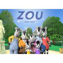 Kit Imprimible Premium Zou Cebra Editable 2x1! Candy Bar