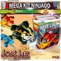 El Mejor Mega Kit Imprimible Ninjago Con Regalos Jose Luis