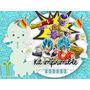 Kit Imprimible Dragon Ball Z Freezer Candy Bar Invitaciones