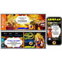 Kit Imprimible Dragon Ball Z: Invitac, Deco, Banderin, Torta
