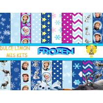 Kit Fondos Mas Imagenes Frozen Nuevo!!!
