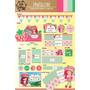Kit Imprimible Personalizado Frutillitas Candy Bar Y Deco!