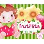 Kit Imprimible Frutillita Bebe Diseñá Tarjetas Cotillon