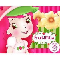 Kit Imprimible Frutillita Diseñá Tarjetas Cotillon Y Mas1