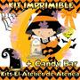 Kit Imprimible Halloween Candy Bar Golosinas Tarjetas 2x1