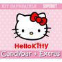 Kit Imprimible Hello Kitty Candybar Invitaciones Promo 2x1