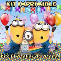 Kit Imprimible Minions Mi Villano Favorito Y Mas Promo 2 X 1
