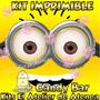 Kit Imprimible Mi Villano Minions Favorito Candy Bar 2x1