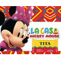 Kit Imprimible Candy Bar Minnie Mouse La Casa De Mickey